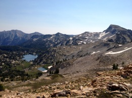 Backpacking in Three Sisters Wilderness