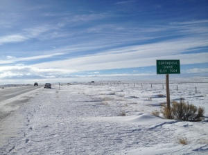 Continental Divide between I-80 and Baggs, WY