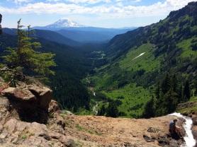 Valley below Goat Lake