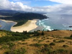 View South from Cascade Head