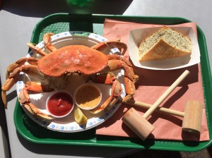 Dungeness Crab Lunch
