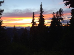 Sunset from Campsite