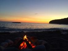Sunset on West Coast Trail