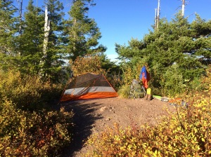 Elk Mtn. Summit Campsite
