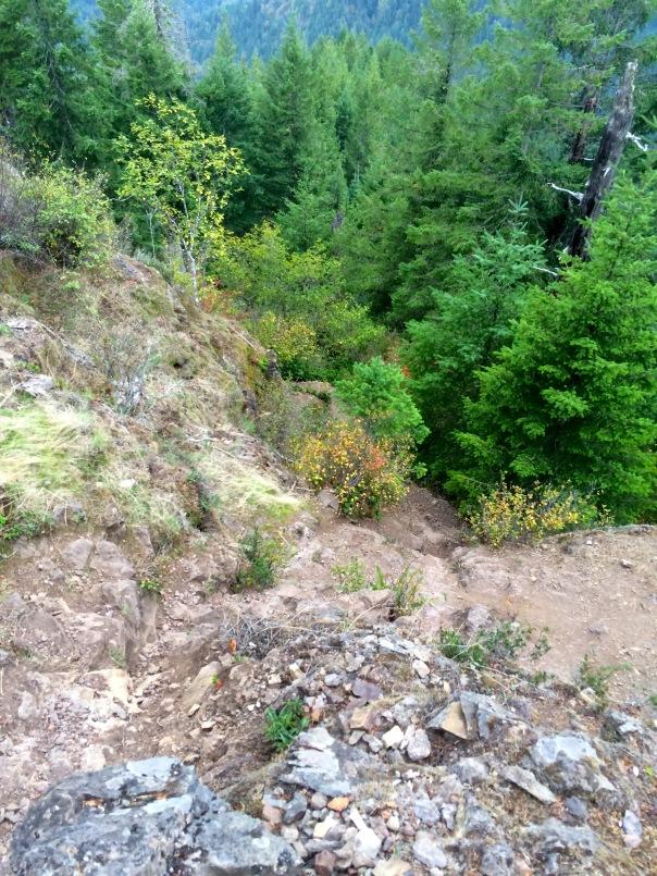 Decent  to Elk Creek Trail