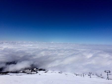 Skiing Timberline