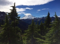 Mt Baker from Lake Ann Trail