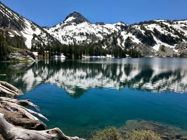 Ice Lake Reflections