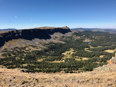 Chinese Wall above Bear River Valley
