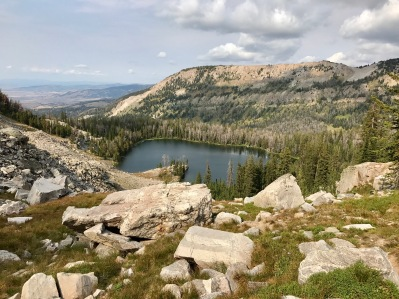 Campsite Overlooking Goodwin Lake