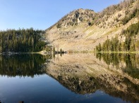 Reflection off Goodwin Lake