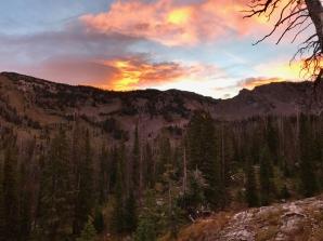 Sunrise Gilpin Lake