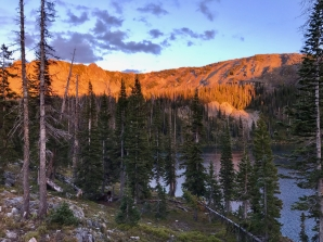 Sunset Gilpin Lake
