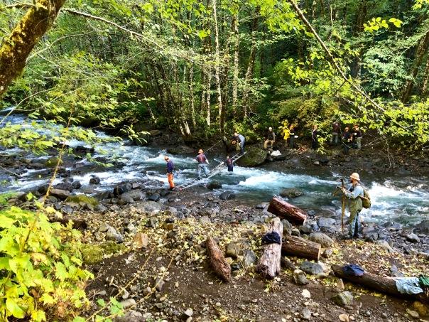 Forest Service Work Crew