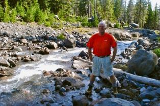 Stream to Camp Lake