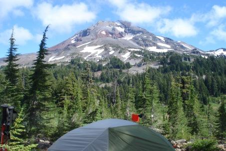 Campsite at Reese Lake