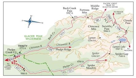 SpiderGap - Map