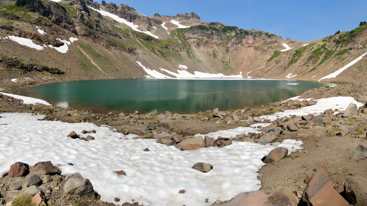 A Pan of Goat Lake