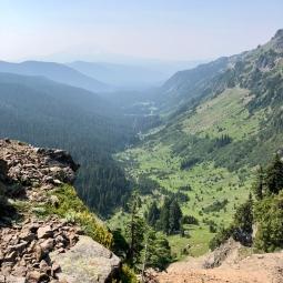 Valley below Goat Lake 2018