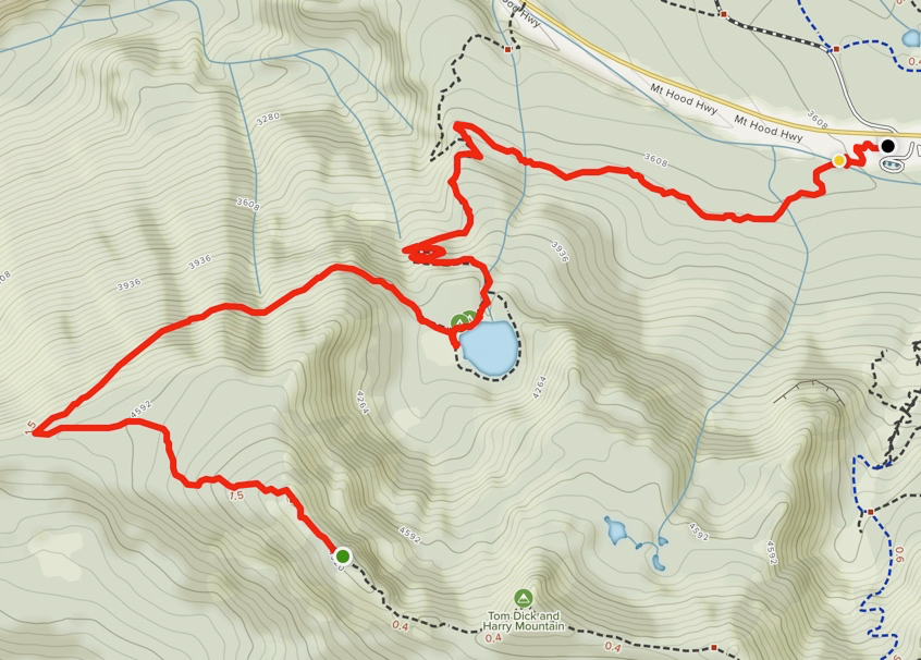 Map from new Trailhead