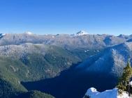 Top of Henline Mtn