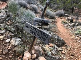 Boucher Trail Sign