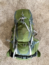 My Deuter Backpack