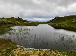 Campsite pond