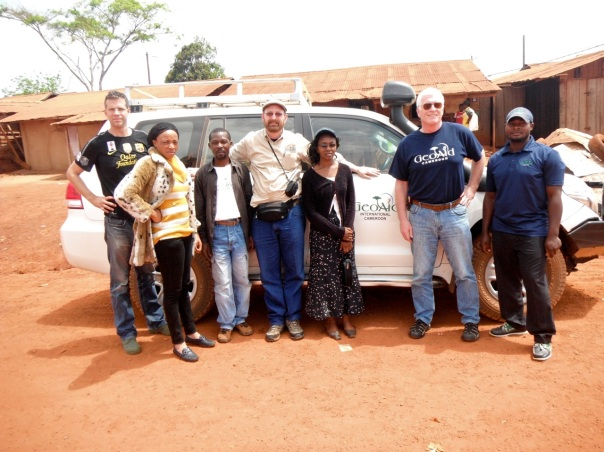 GeoAid Team in Lomie Cameroon