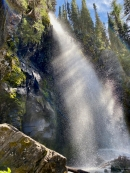 Sun Streaked Falls