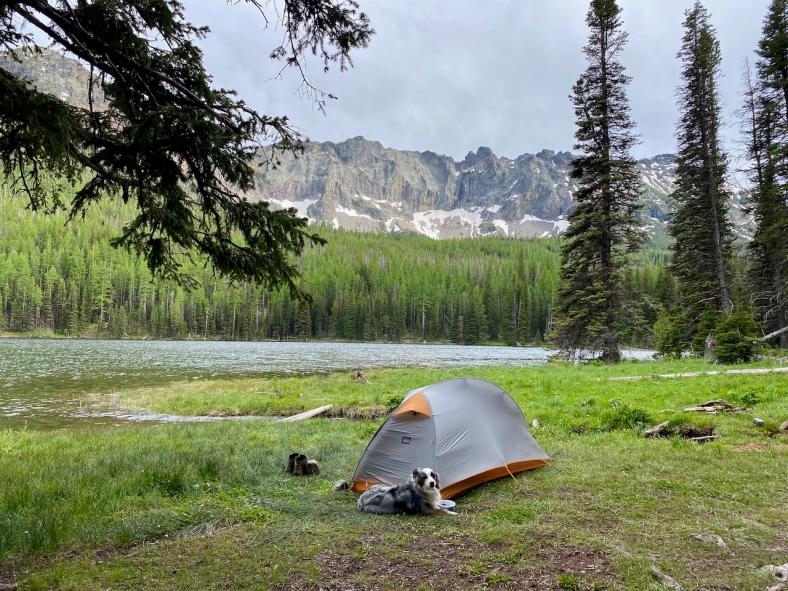 Strawberry Lake Grassy Campsite
