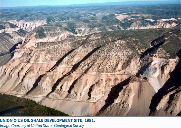 Union Oil Shale Site 1981